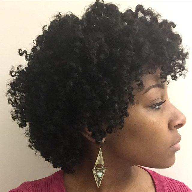 Nadieya- 'Enjoy the ride, learn your hair, learn yourself.'