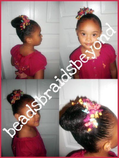 Natural Hairstyles and Tips for Little Girls