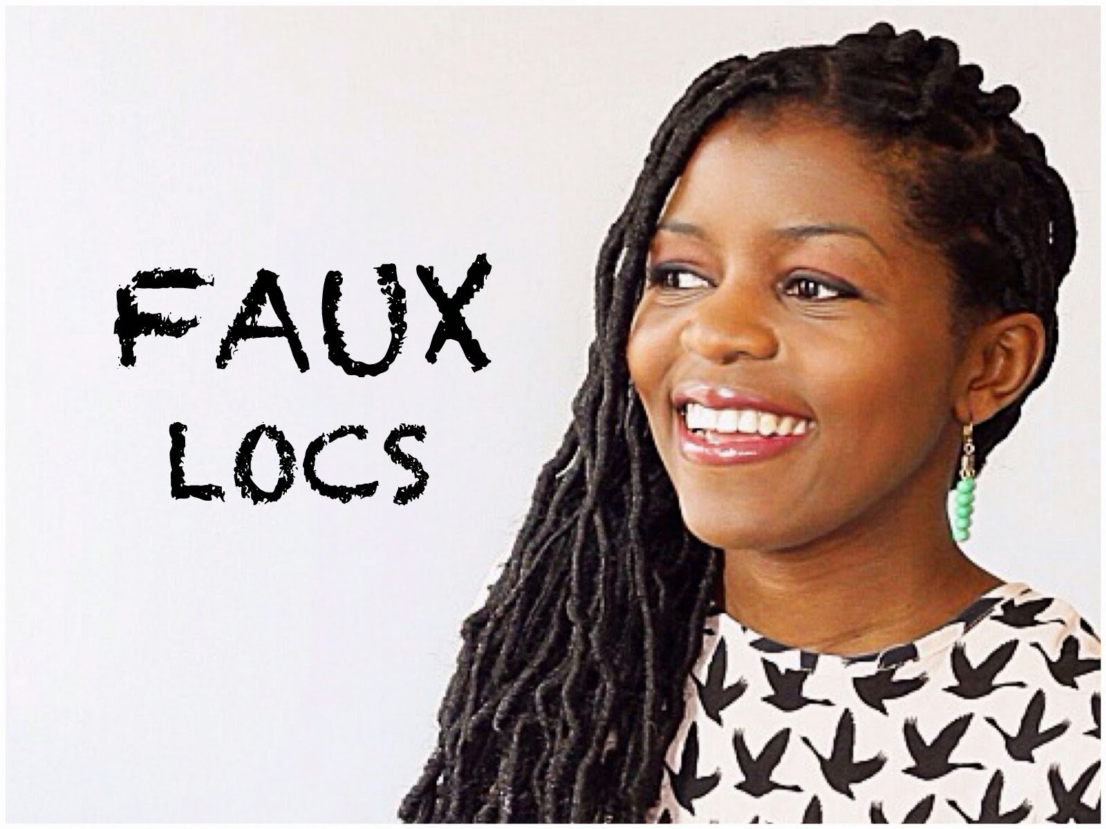 How I Install My Own Faux Locs for a Protective Style