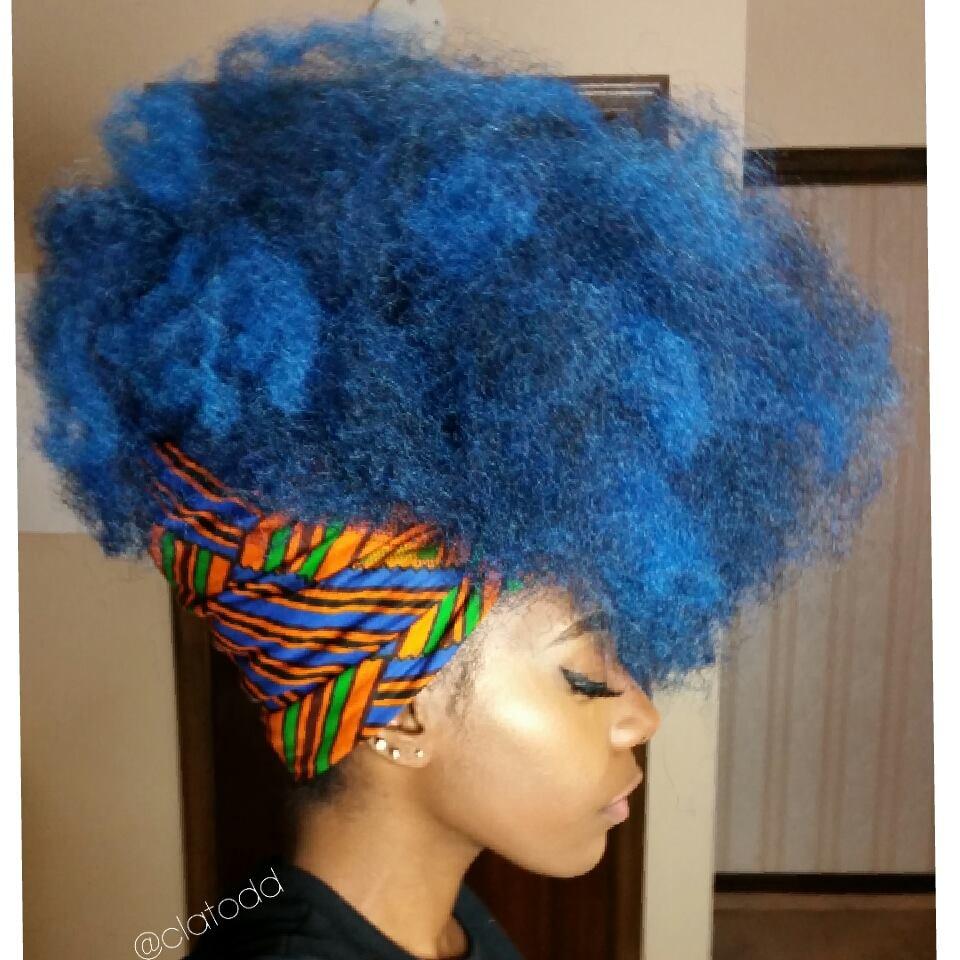 Recreate This Look: Big, Bold Natural Hair