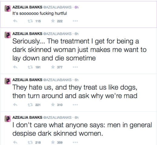 Seriously, No Shade: Azealia Banks Confirms Skin Lightening