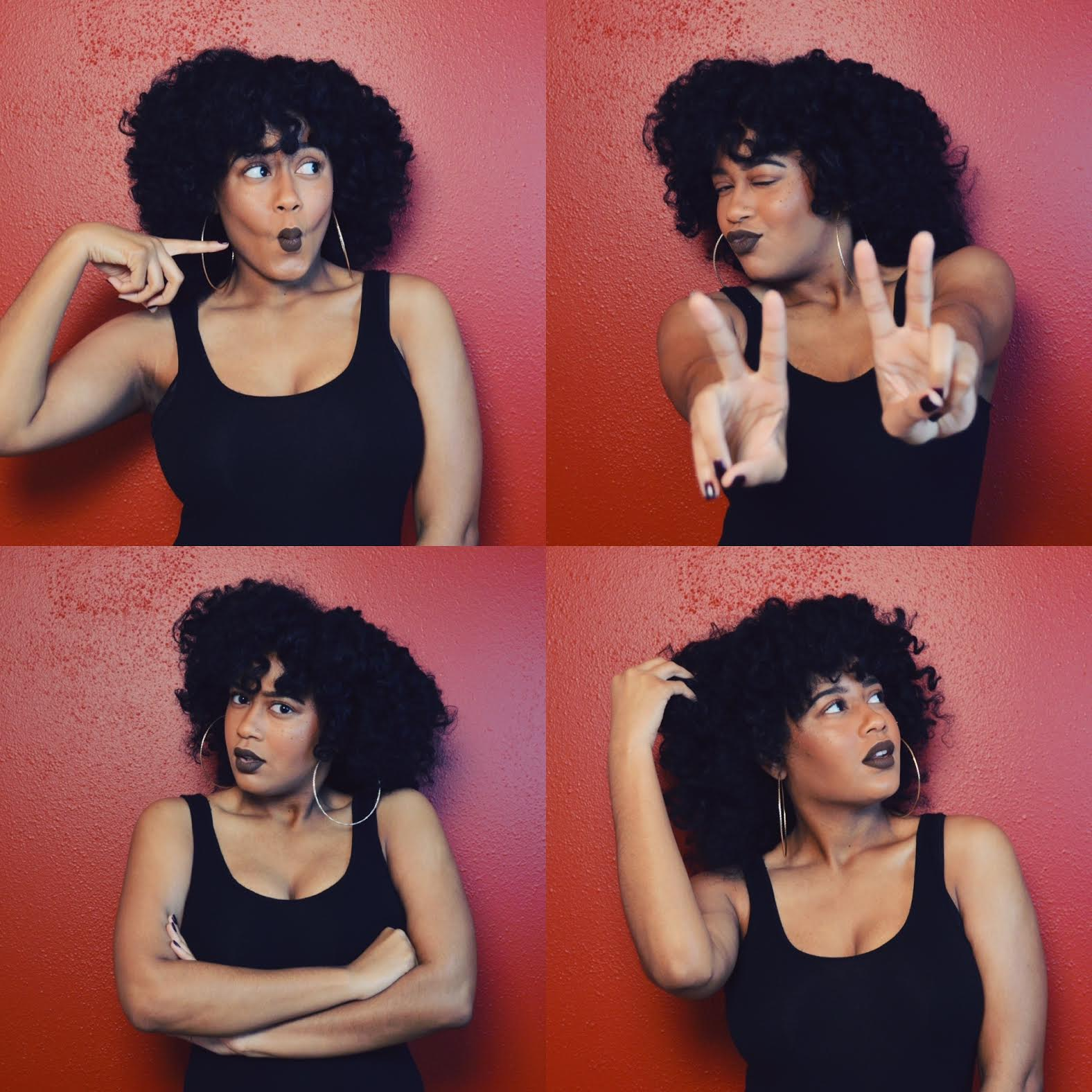 Natural Hair Style Inspiration: Quick and Easy Flat Twist-n-Curl