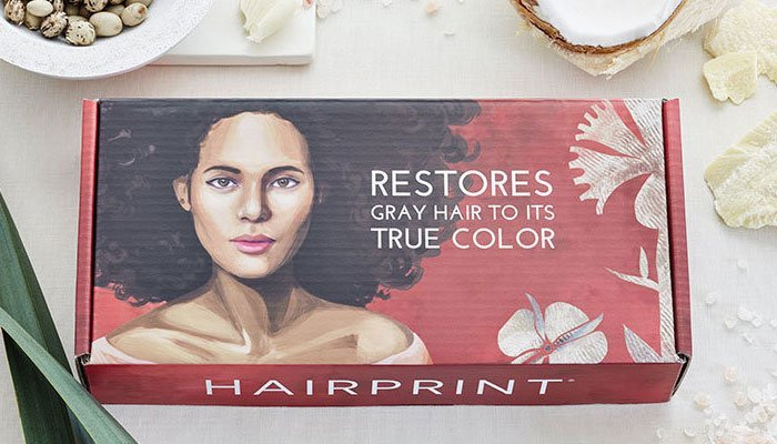 NEW Product: Color Gray Hair & Restore Pigment Without Chemicals!