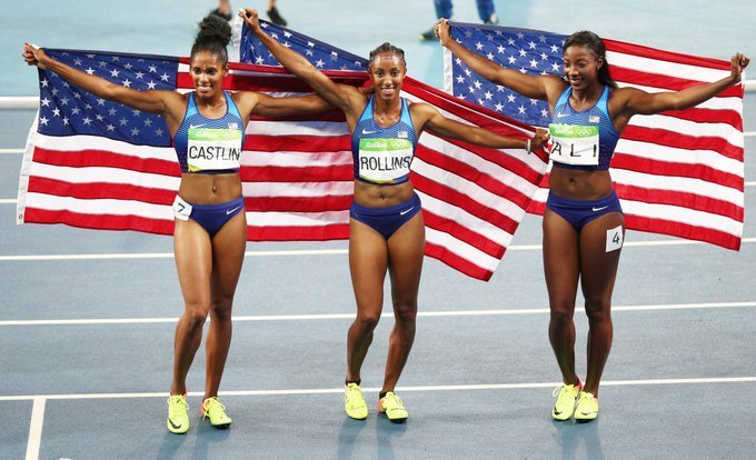 Three Black Women Just Swept The 100M Hurdles, Making Olympic History