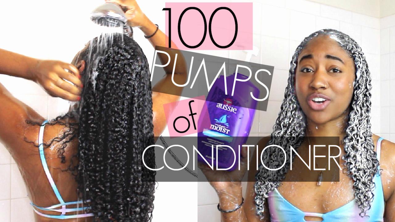 100 Pumps of Conditioner