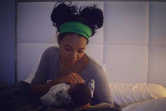 Angela Simmons Gives Birth To A Baby Boy