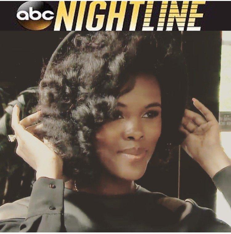CurlyNikki on ABC's Nightline