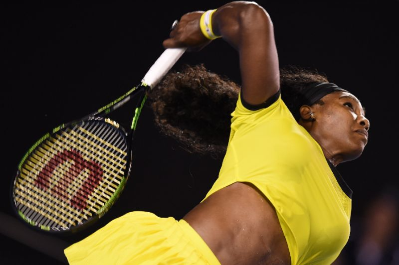 Serena Williams Has Kicked Butt A Total of 308 Times