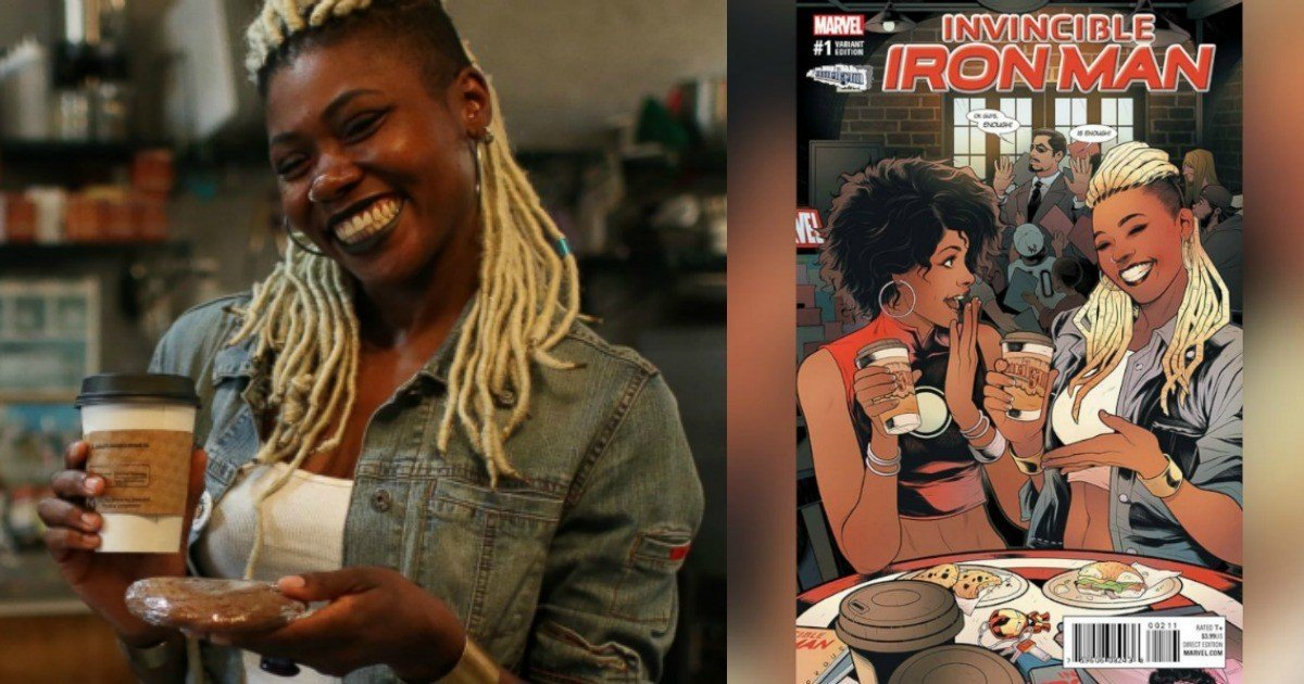 Black Woman Comic Book Store Owner Will Appear On Cover Of Marvel Comic Book