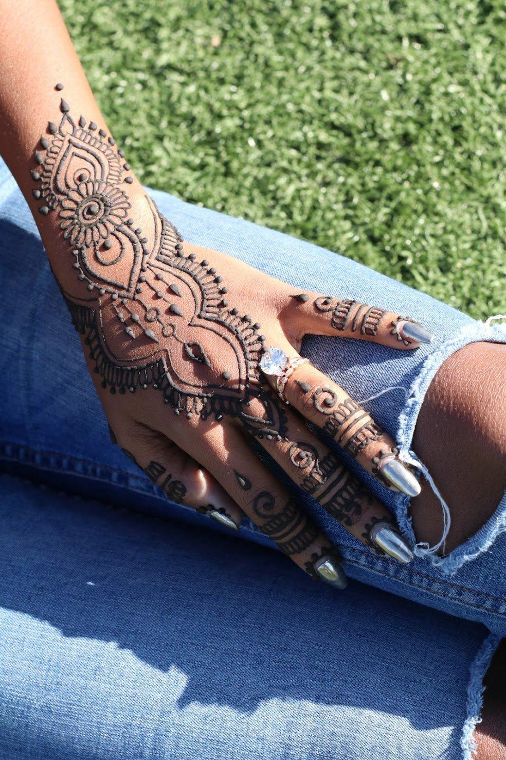 My Henna Belly!