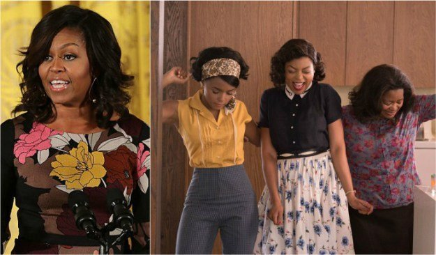 First Lady Michelle Obama Hosts 'Hidden Figures' Screening At The White House