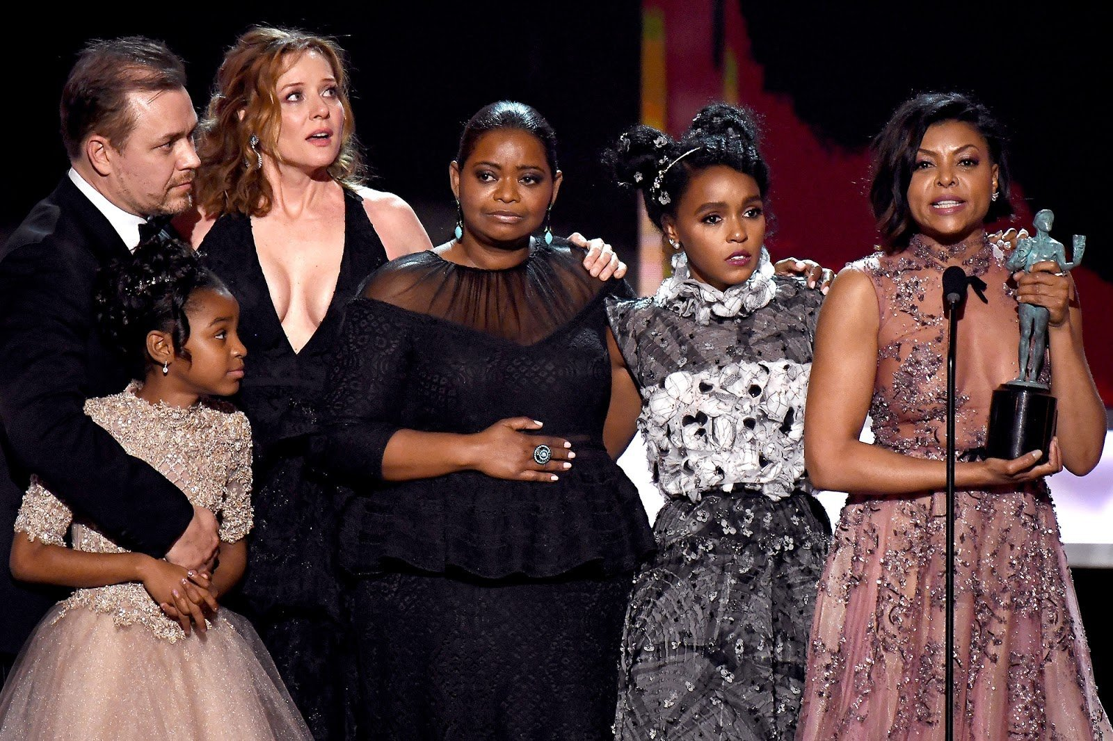 Hidden Figures Cast Wins SAG Award For 'Outstanding Performance By A Cast In A Motion Picture'