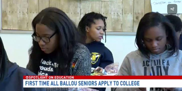 For The First Time, Every Senior At This D.C. High School Has Applied To College