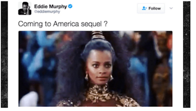 Eddie Murphy May Be Working On A Sequel To 'Coming To America'