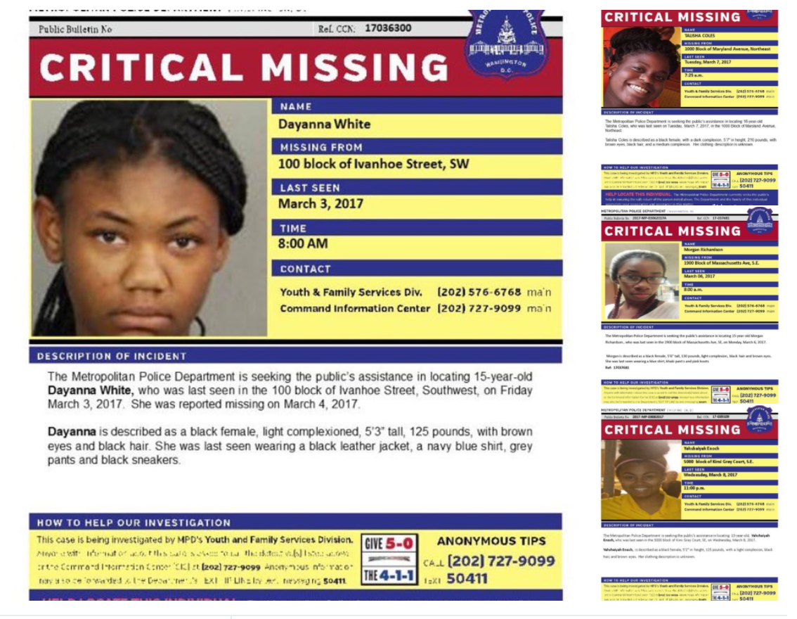These Black Girls Are Missing, But How Come No One Cares?