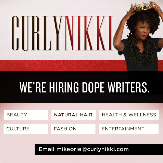 CurlyNikki.com is Looking For More Writers!