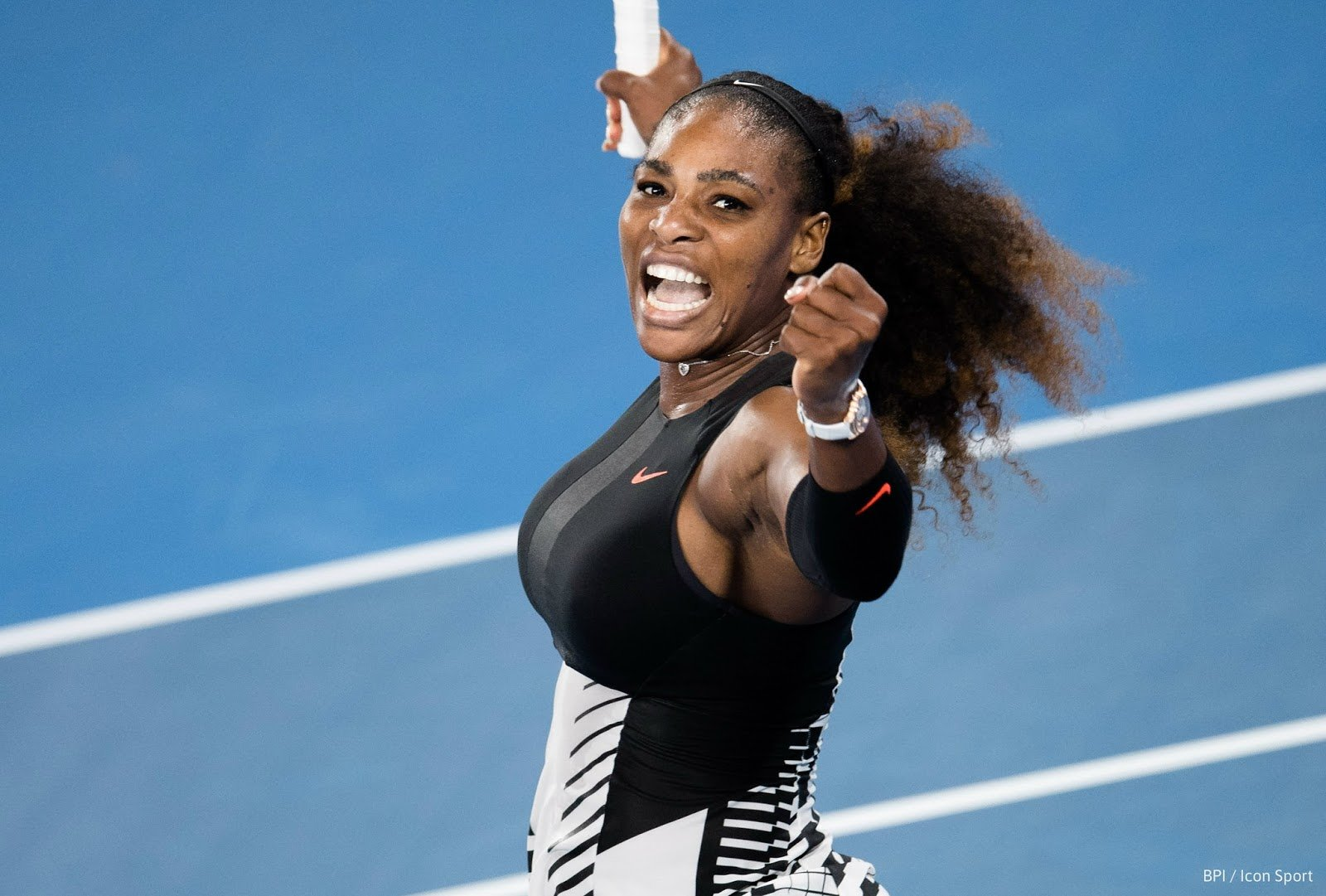 """Serena Williams Responds to Racist Who Says Her Baby Will Be """"Chocolate with Milk"""""""