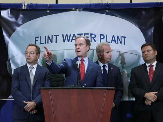 Five Flint City Officials Charged With Manslaughter
