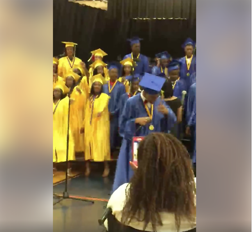 """These Graduates Remixed """"Before I Let Go"""" And It's Amazing"""