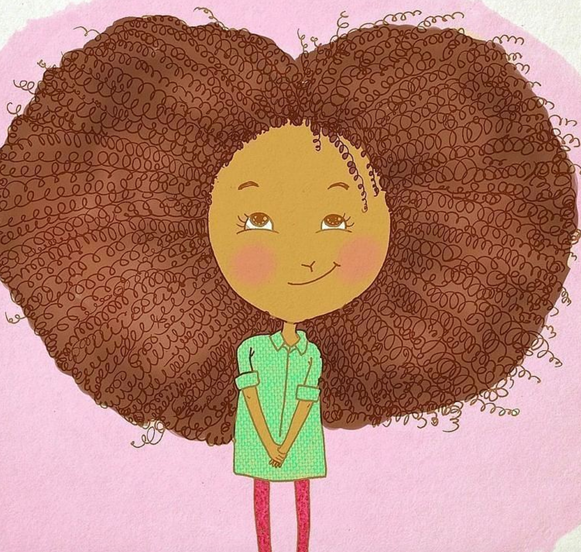 For All The Black Girls Teased About Their Natural Hair, This Book Is For You