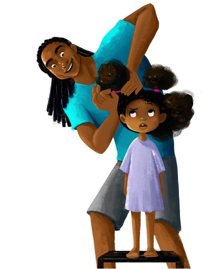 Matthew Cherry Developing Animated Film About Father Doing Black Girls Hair