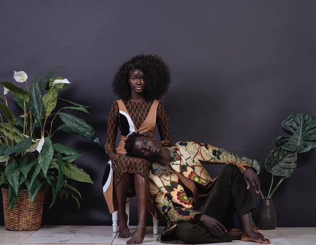 """Senegalese Model Khoudia Diop Wants To Show Young Girls """"It's Not Bad To Be Dark"""""""