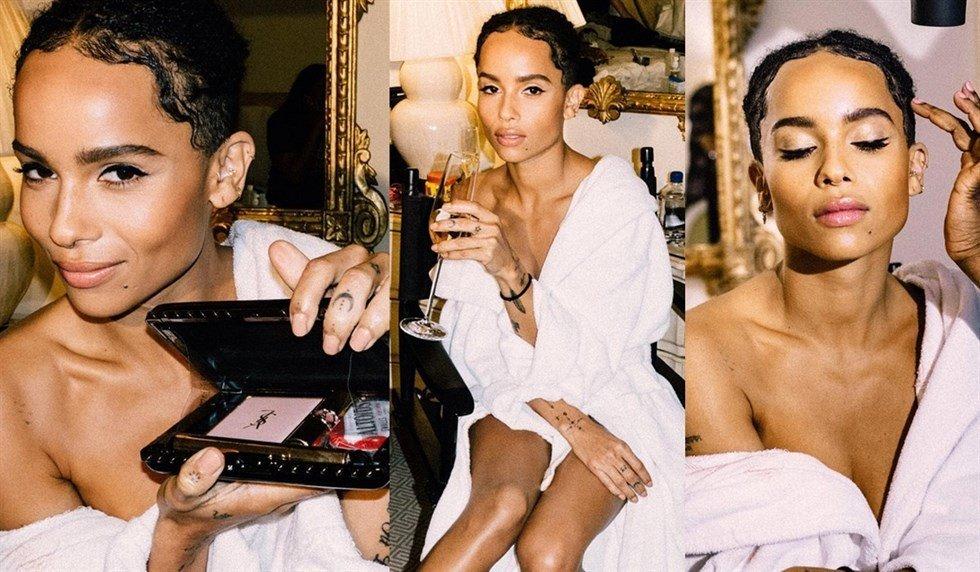 Zoe Kravitz Named Global Makeup Ambassador for Yves Saint Laurent