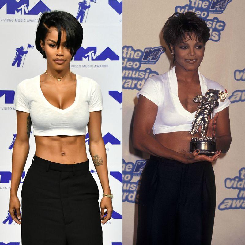 Teyana Taylor Pays Homage to Janet Jackson At MTV VMAs