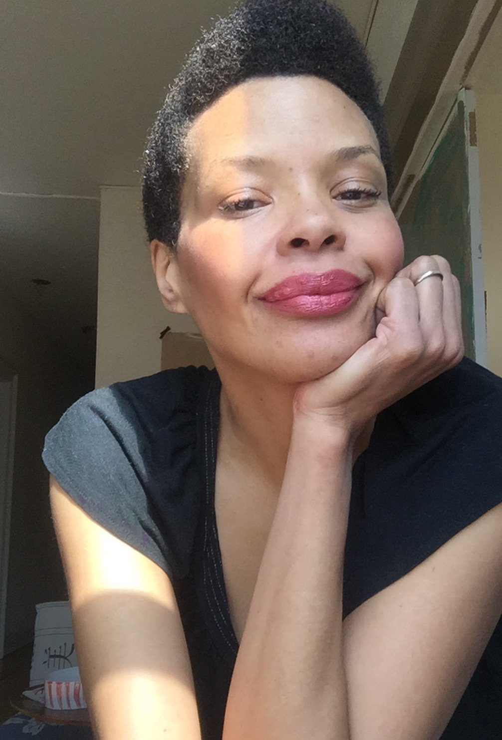 Sanaa Lathan Goes Beyond Natural With Her New Baldie