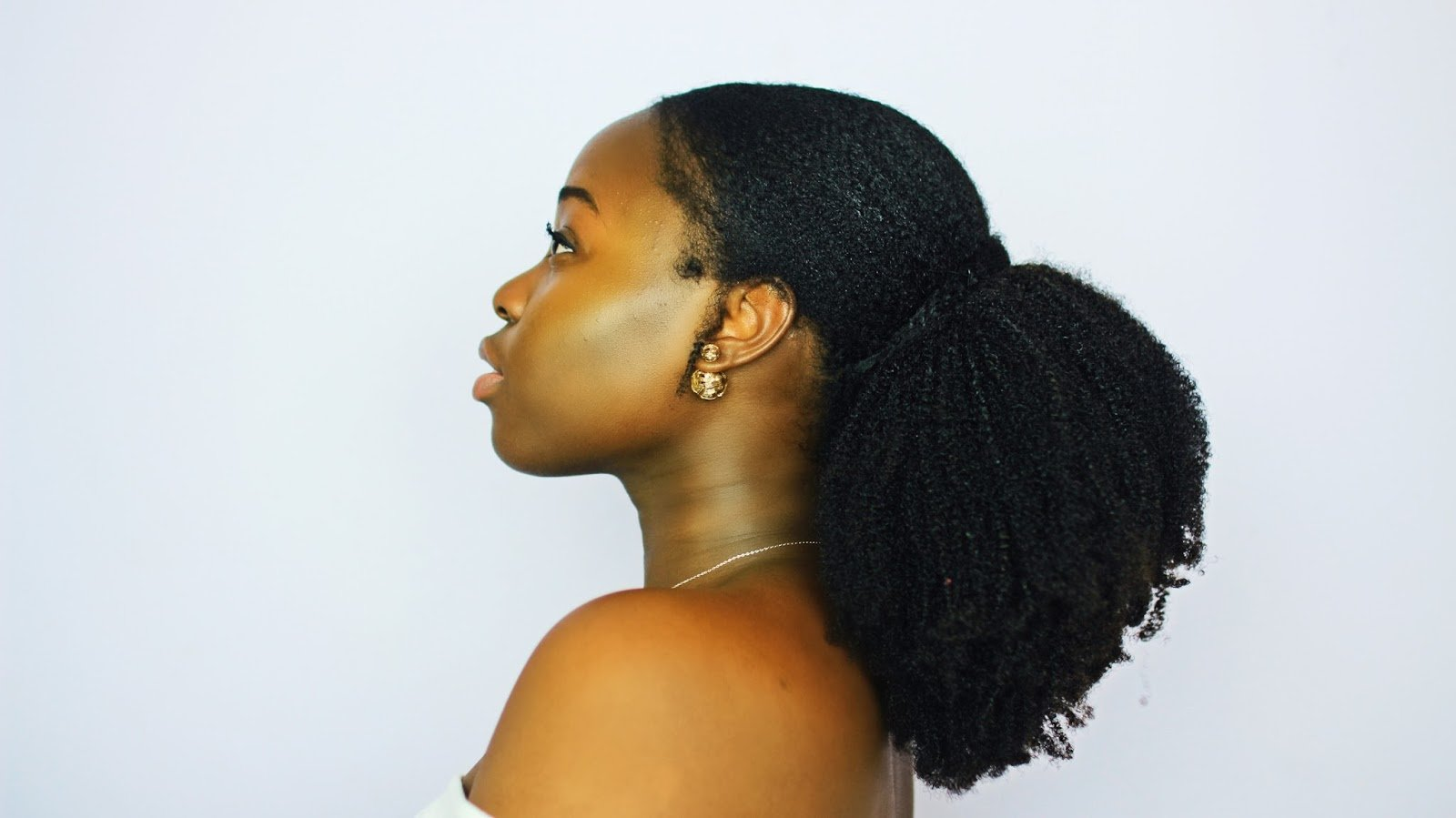 Here's The Perfect Sleek Ponytail For 4c/4b Naturals!