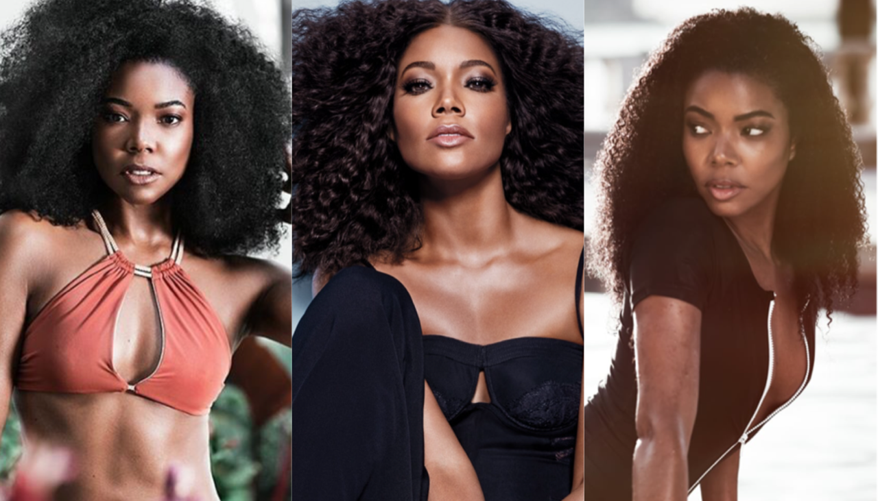 What's Your Fav Gabrielle Union Textured Hairstyle?!