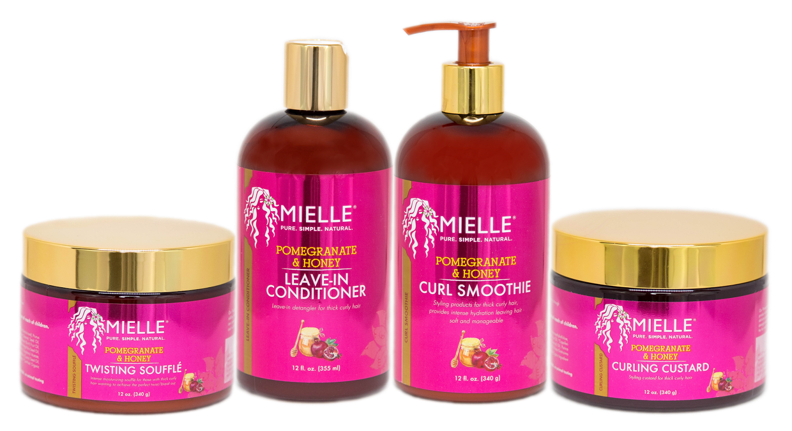 And The Winners Of The Mielle Organics Pomegranate & Honey Hair Care Bundles Are...