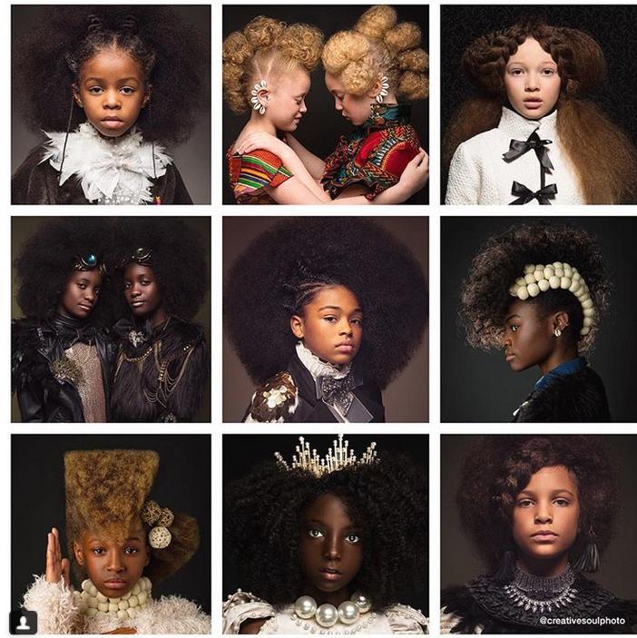 Two Phenomenal 2018 Calendars Capturing Black Beauty Perfectly