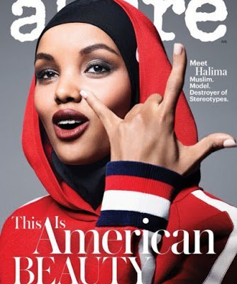 When Faced With Anti-Muslim Bigotry Model Halima Aden Has The Perfect Response