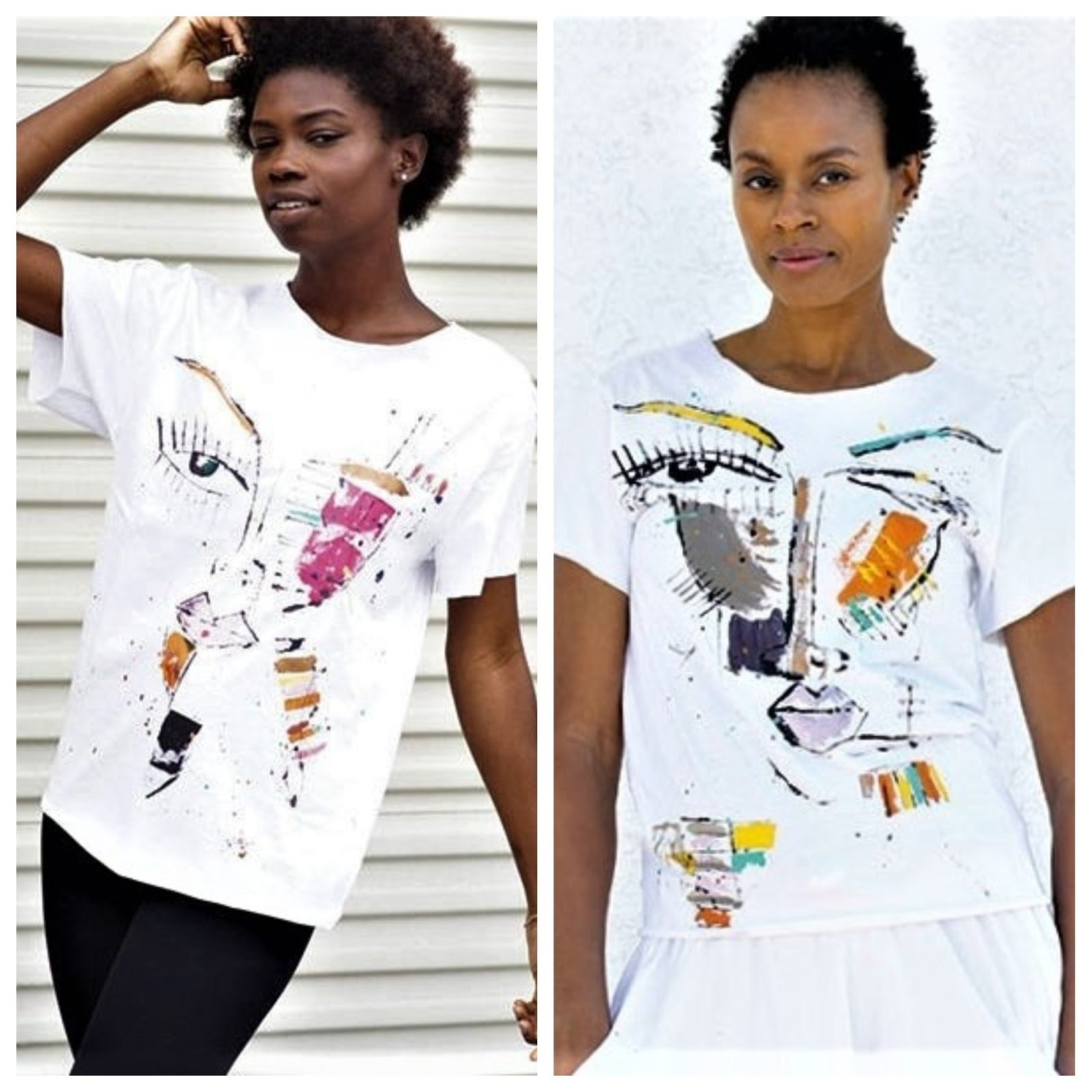 Comment On All Articles For A Chance To Win A Miles Regis Collection Painted Tee!