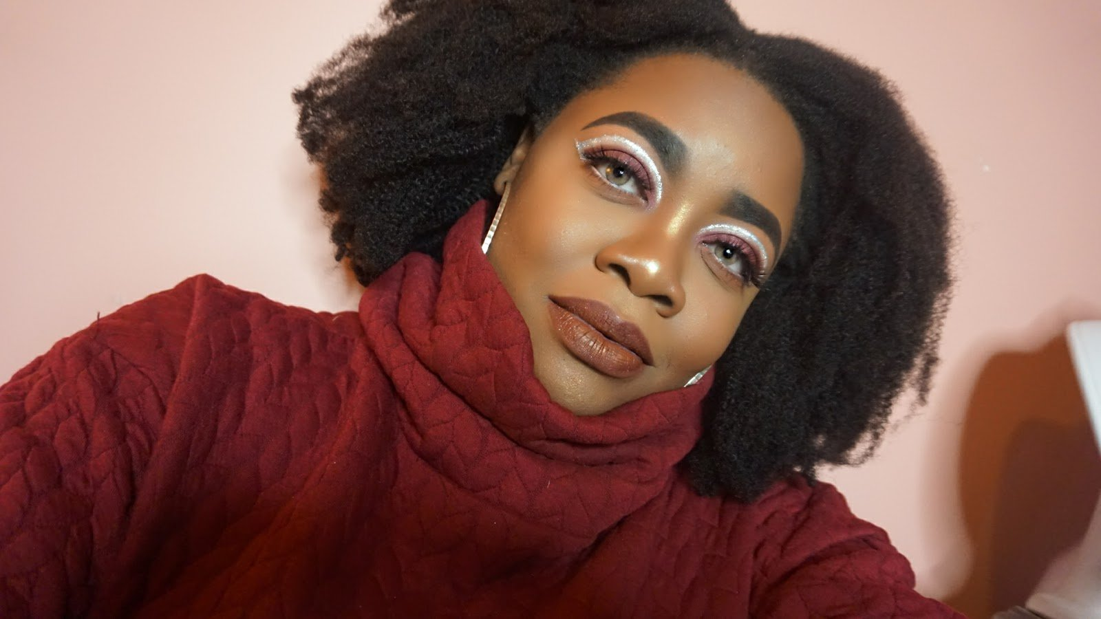 Shola is Naturally Glam & a Helluva Makeup Artist!
