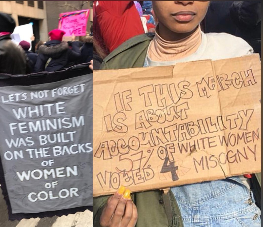 Women's March & White Women on What to do About White Female Trump Voters