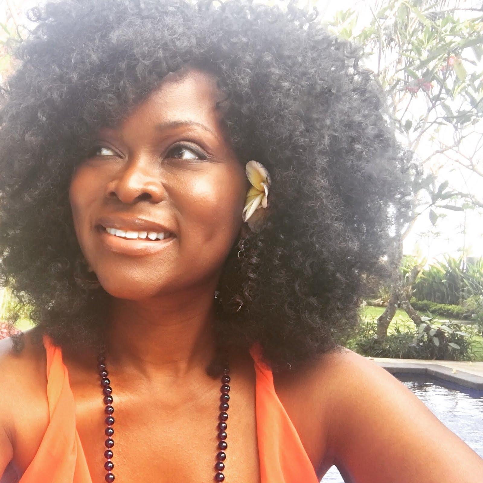 Abiola Abrams Wears Many Hats & She's Always Naturally Glam!
