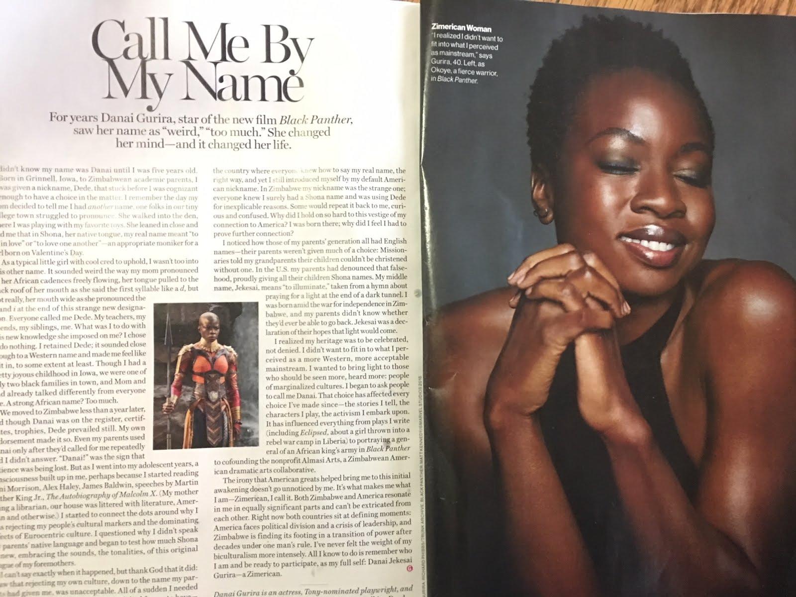 Black Panther's Danai Gurira on being a Proud Zimerican