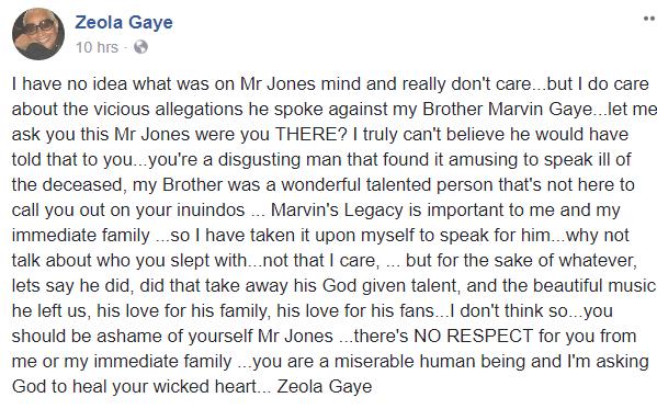 When The Family Claps Back: Zeola Gaye & Rain Pryor Dispel Quincy Jones's Rumors