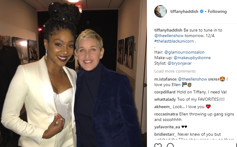 Tiffany Haddish's Fan Girl Moment With Oprah Will Leave You Smiling!