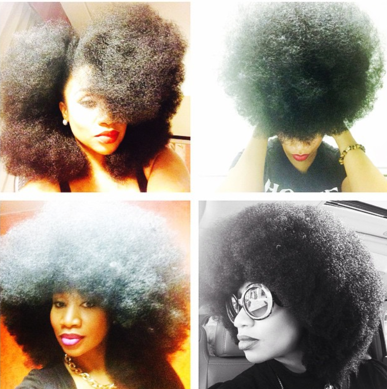 Aevin Dugas Holds the Guinness World Record For Largest Afro & She's Naturally Glam!