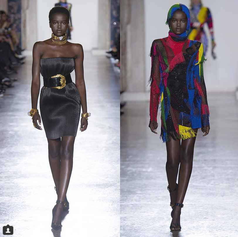 She So Vain: Meet the Young Sudanese Model Giving Us Old School Glamour!