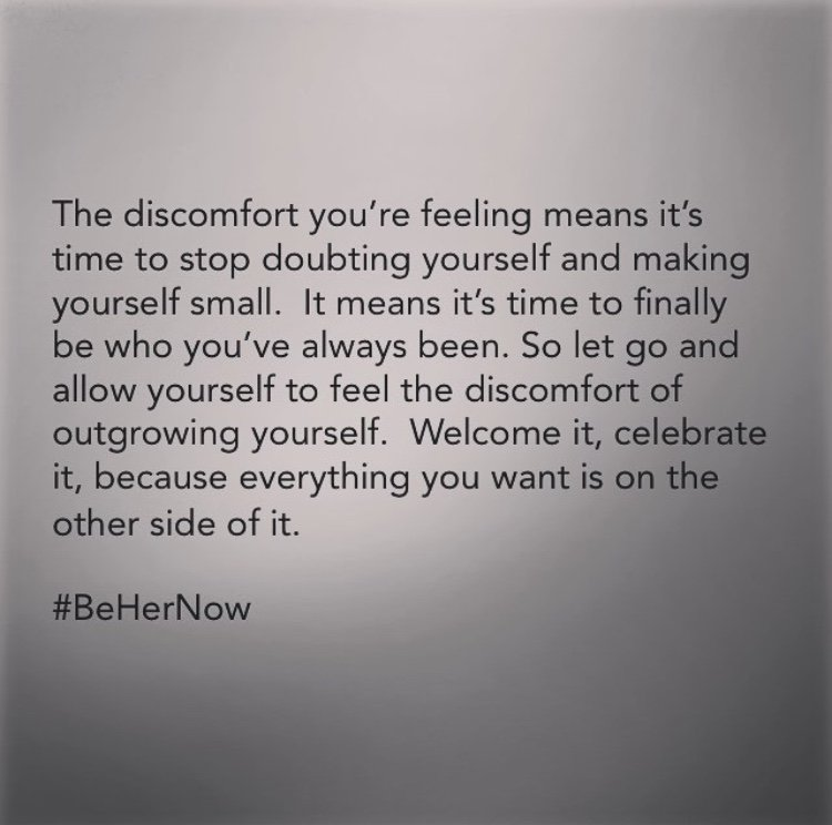 The Discomfort is Your Miracle in Disguise