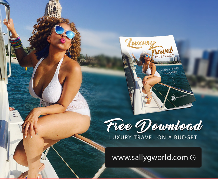 Travel Blogger Sally G is Naturally Glam!