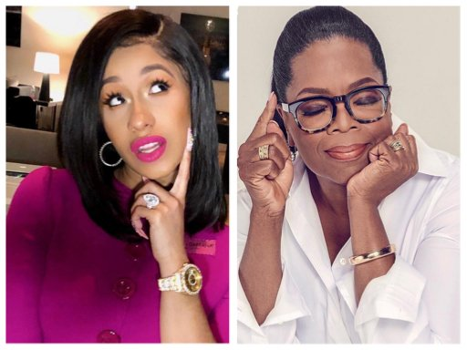 Tell It Tuesday: Oprah Shines Light on Cardi B, Reminding Us We All Have a Light to Shine