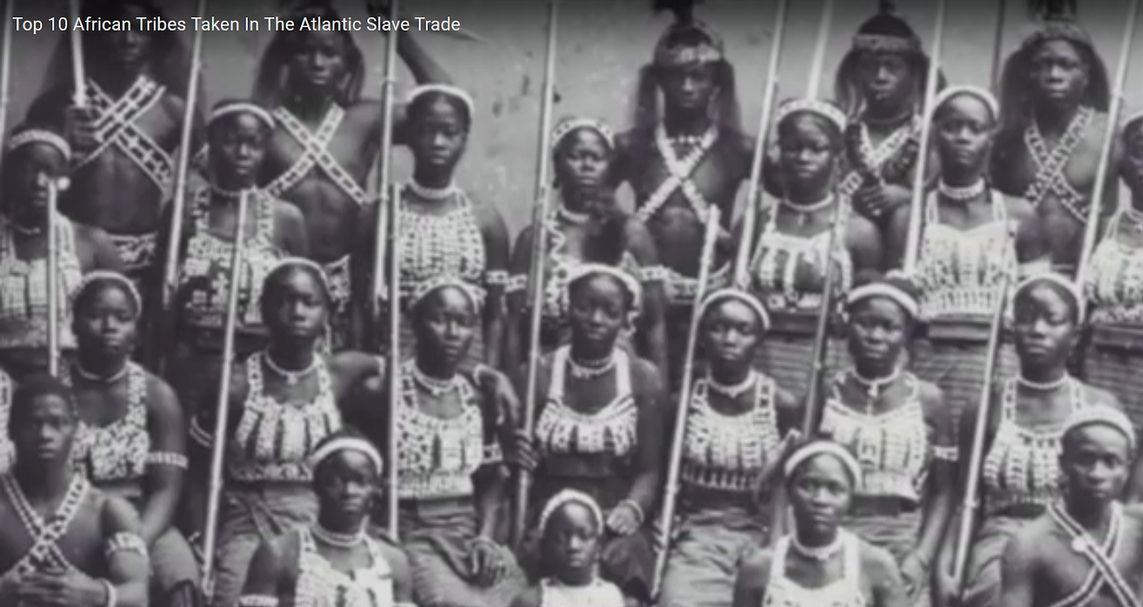 Top 10 African Tribes Taken in the Atlantic Slave Trade