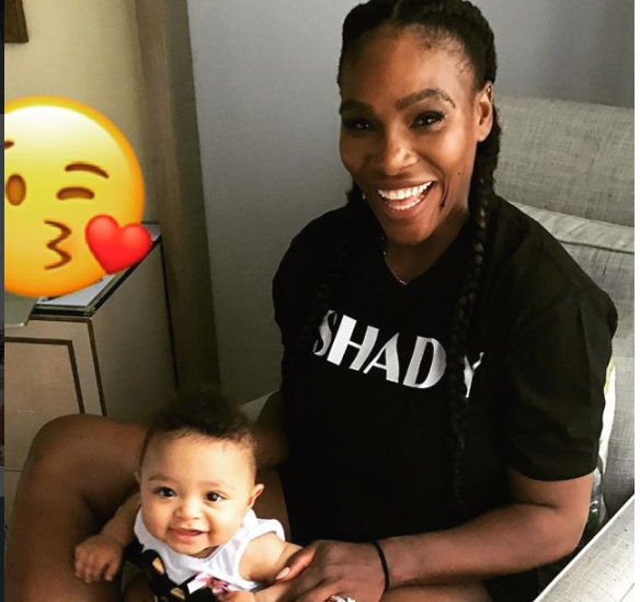 8 Times Serena's Baby Olympia Got Our Ovaries Tingling
