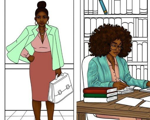 And the Winners of the 24 Shades of Business Adult Coloring Book Are...