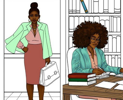 Comment to Win a 24 Shades of Business Adult Coloring Book!